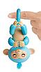 Интерактивная гламурная ручная обезьянка (голубая) Амелия Fingerlings W3760/3761, фото 2