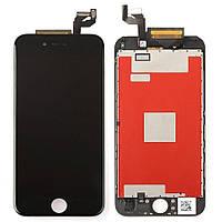 Дисплей (LCD) iPhone 6S + сенсор чёрный оригинал