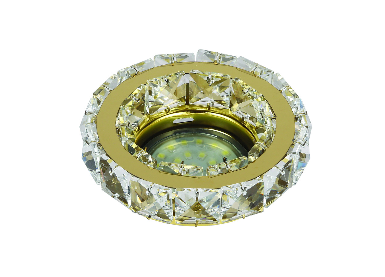 Точечный врезной светильник Levistella 716MKD-C24Y GD
