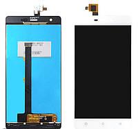 Дисплей (LCD) Nomi i506 Shine + сенсор белый