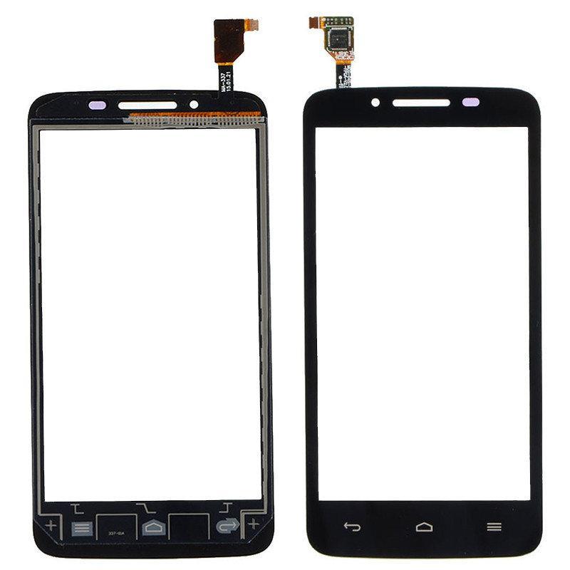 Тачскрин для Huawei Y511-U30 Ascend Dual Sim, черный Оригинал (тестирован)
