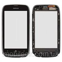 Сенсор (тачскрин) Nokia 620 Lumia 1 rev чёрный