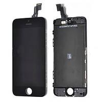 Дисплей (LCD) iPhone 5C + сенсор чёрный