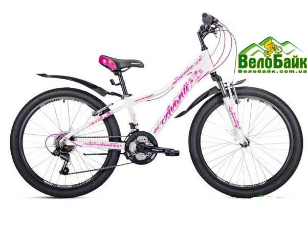 """Велосипед AVANTI 24"""" JASMINE 2019 рама 13"""" білий/рожевий AV000087"""
