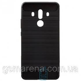 Чехол силиконовый Polished Carbon Huawei Mate 10 Pro черный