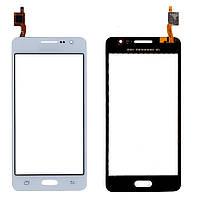 Сенсор (тачскрин) Samsung J100H/ DS/ J100/ J100F Galaxy J1 Duos белый оригинал