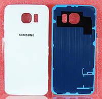 Задняя крышка Samsung G920F Galaxy S6 белая
