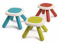 Стульчик без спинки детский SMOBY TOYS, 3 вида ( голубой , салатовый , красный.), 18мес.+, 880200
