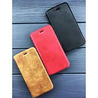 Книжка Leather folio Xiaomi Redmi Note 6 черная