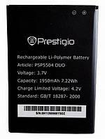 Аккумулятор 100% оригинал Prestigio 5504