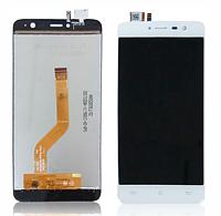 Дисплей (LCD) Cubot Note Plus + сенсор белый
