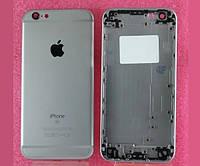Задняя крышка корпус iPhone 6S темно-серая