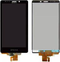 Дисплей (LCD) Sony LT30i Xperia T + сенсор чёрный