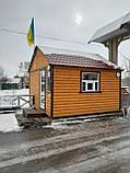 Блок-пост, вагончик для охраны, домик деревянный, сторожка, фото 4