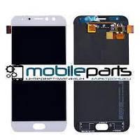 Дисплей (LCD) Asus ZenFone 4 Selfie (ZD553KL) + сенсор белый