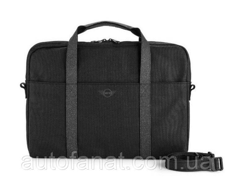 Оригинальная сумка для ноутбука MINI Laptop Bag, Material Mix, Black/Grey NEW (80222451019)
