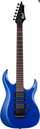 Электрогитара CORT X250 (Kona Blue)