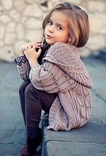 Кофти, светри, жилети для дівчат