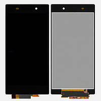 Дисплей (LCD) Sony C6902 L39h Xperia Z1 (6903/ 6906/ 6943) + сенсор чёрный