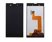 Дисплей (LCD) Sony D5102/ D5103/ D5106 Xperia T3 + сенсор чёрный
