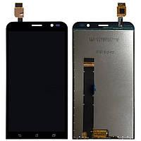 Дисплей (LCD) Asus ZenFone Go (ZB551KL) + сенсор чёрный