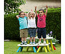 Скамейка без спинки детская SMOBY TOYS, 3 вида ( голубая , салатовая , красная), 18мес.+, 880300, фото 6