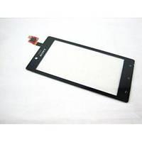 Сенсор (тачскрин) Sony ST26i чёрный