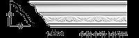 Карниз потолочный с орнаментом Classic Home 1-0901, лепной декор из полиуретана