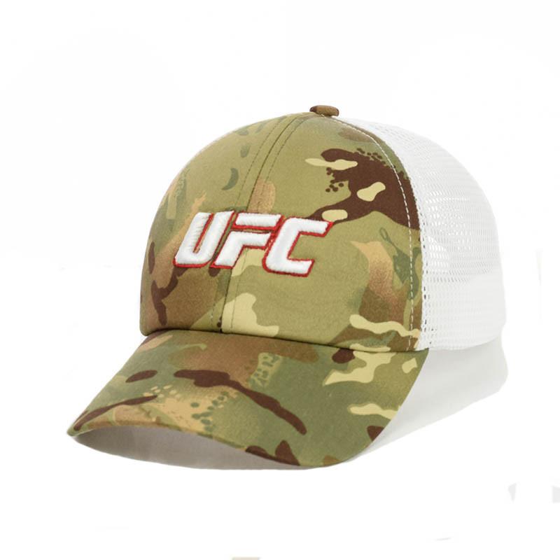 """Камуфляжна кепка- бейсболка с сеткой """"UFC"""""""