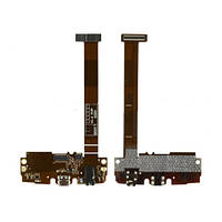 Шлейф LG H955 Optimus G Flex 2 с разъемом зарядки, разъемом наушников, микрофоном