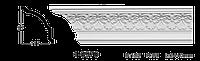 Карниз потолочный с орнаментом Classic Home 1-0970, лепной декор из полиуретана