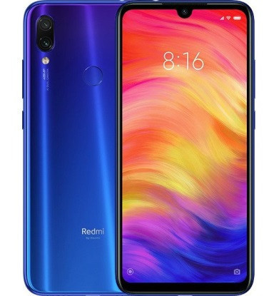 "Смартфон Xiaomi Redmi Note 7 Blue 4/128Gb Global, 48+5/13Мп, 8 ядер, 2sim, 6.3"" IPS, 4000mAh, Snapdragon 660"