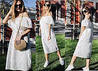 Женское летнее платье  НИ4043, фото 1