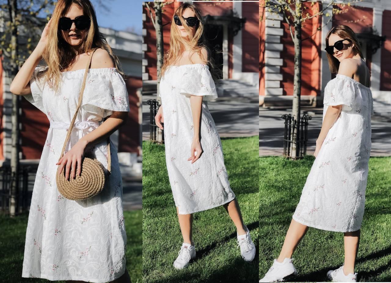 Женское летнее платье  НИ4043