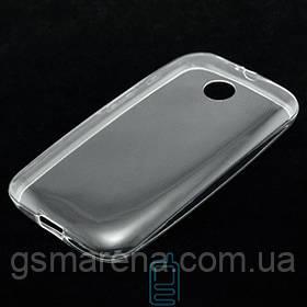 Чехол силиконовый Slim Motorola Moto E прозрачный