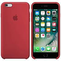 Чехол Silicone case для Apple iPhone 6 / 6S (4.7 Дюйма) Силиконовый (Марсала) (000002161)