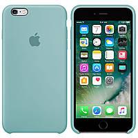 Чехол Silicone case для Apple iPhone 6 / 6S (4.7 Дюйма) Силиконовый (Небесно-голубой) (000002170)