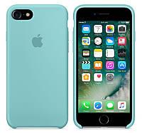 Чехол Silicone case для Apple iPhone 6 / 6S (4.7 Дюйма) Силиконовый (Бирюза) (000002174)