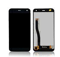 Дисплей (LCD) Nomu S20 + сенсор черный