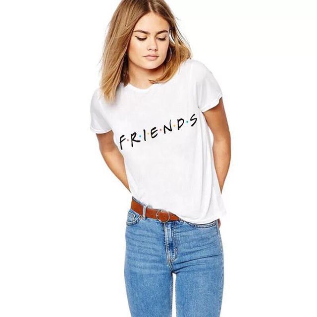 футболка Friends женская, футболка Friends, Футболка Друзья