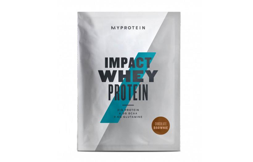 Протеїн MyProtein Impact Whey Protein - 1 kg. (ШОКОЛАД, КАРАМЕЛЬ)