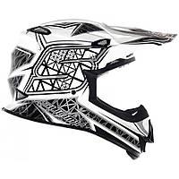 Шлем Suomy MrJump S-Line Sparkl S Белый с черным (KSMJ0018.3)