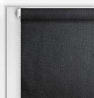 Рулонная Штора Люминис Черный (солнце отражающий экран)