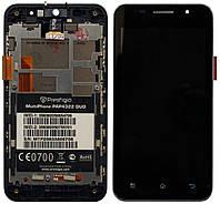 Дисплей (LCD) Prestigio 4322 + сенсор черный + рамка