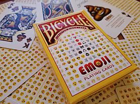 Карты игральные   Bicycle Emoji, фото 3