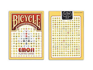 Карты игральные   Bicycle Emoji, фото 2