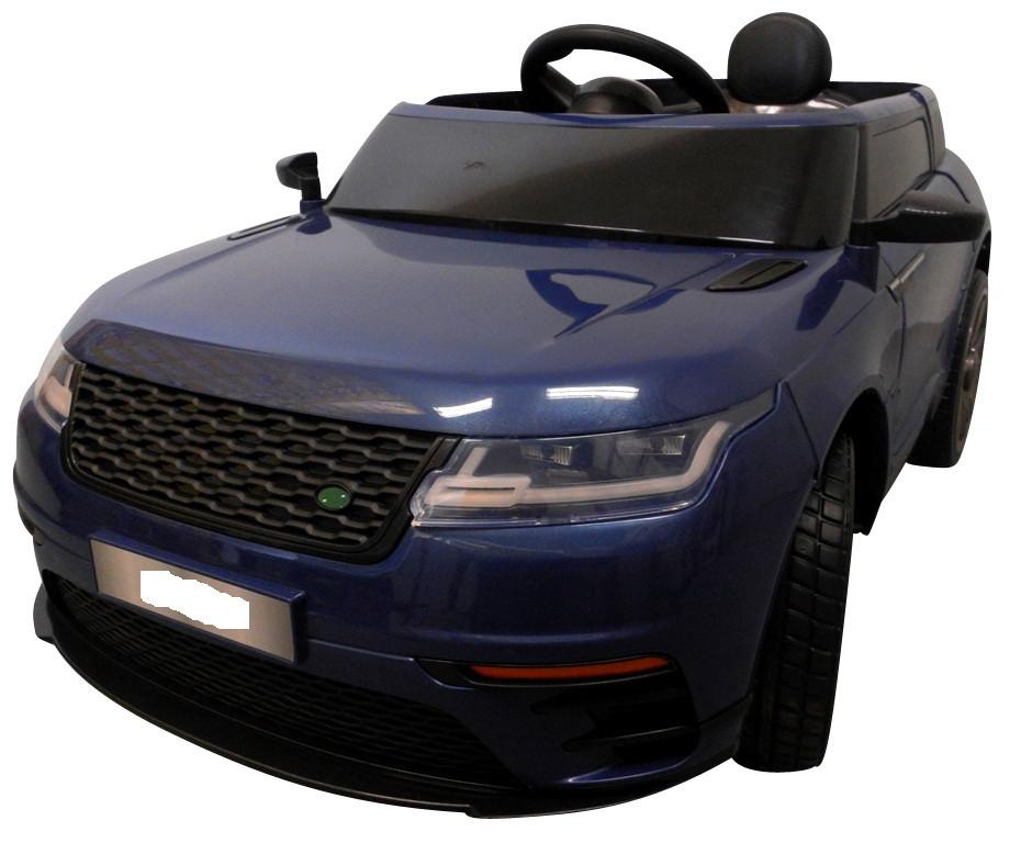 Электромобиль детский Range F4 с пультом управления и мягкими колесами EVA синий (8079)