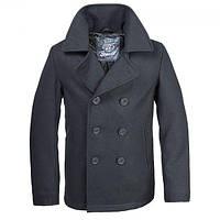 Бушлат Brandit Pea Coat BLACK L Черный (3109.2)