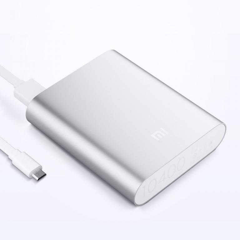Мобильная зарядка POWER BANK 10400mAh (реальная емкость 4800 mAh) MI