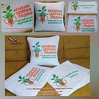 Идея подарка или промоакции - текстиль с логотипом